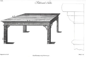 Sideboard table, Chippendale's Director…