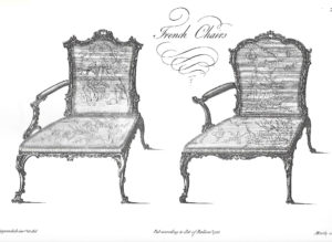 'French' chairs, from Chippendale's 1754 Director…