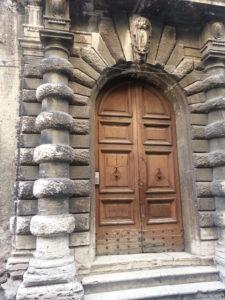 Portico of Palazzo Piccolomini Bandini, Tivoli